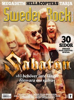 SRM #07/2016 ink CD Sabaton